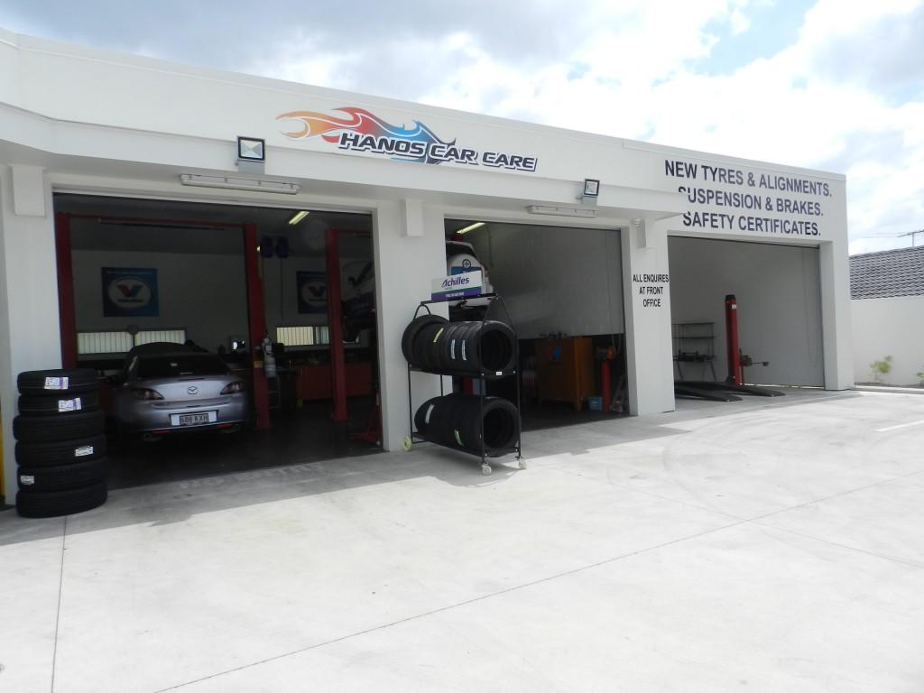 Hanos Car Care Everton Park Workshop